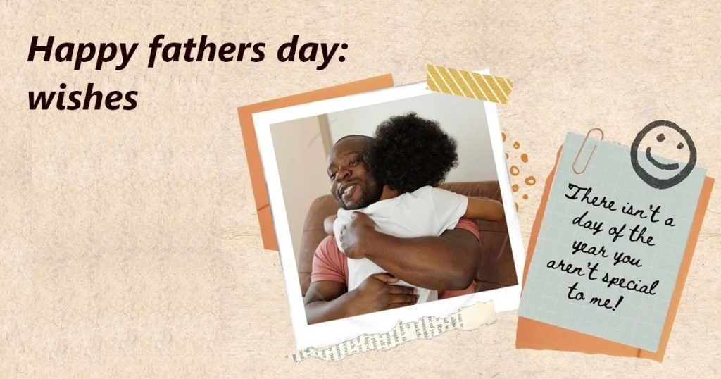 Happy fathers day: wishes
