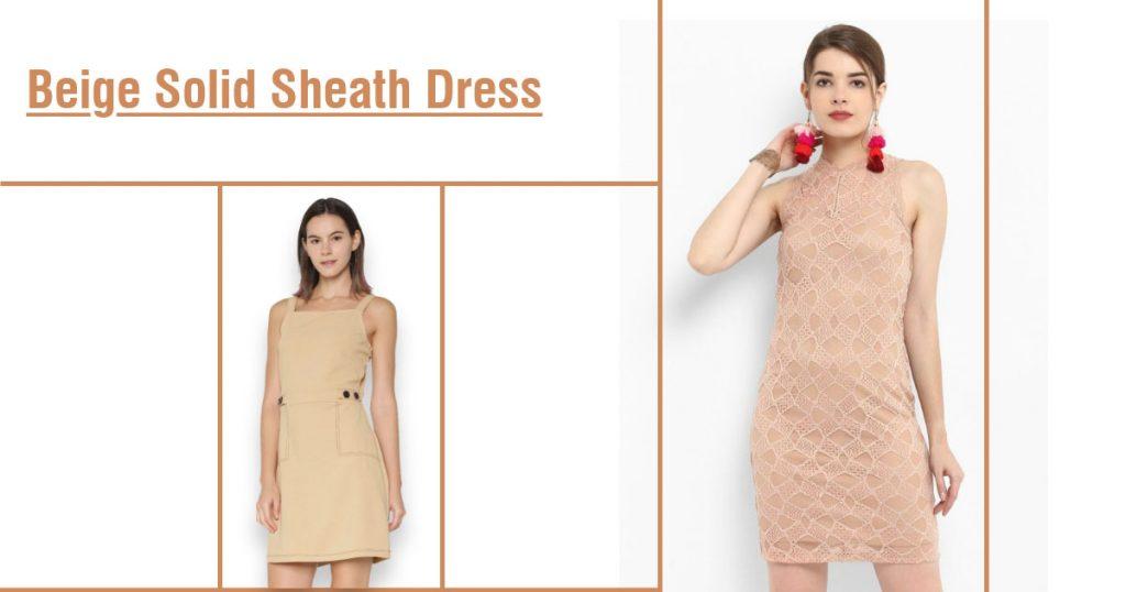 Amazing beige dresses