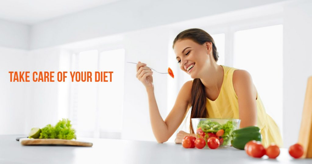 Invest in the right diet