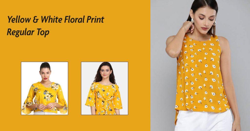 Regular Floral print Top