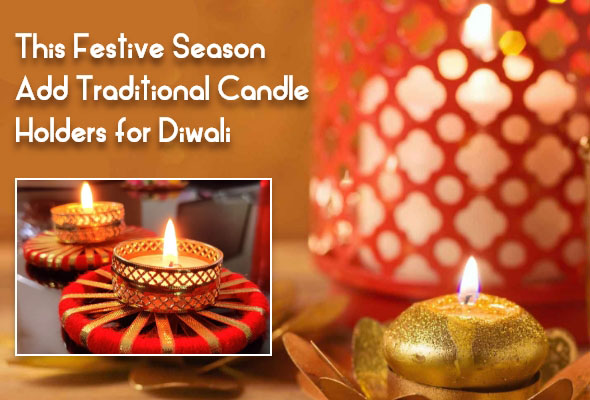Diwali candleholders