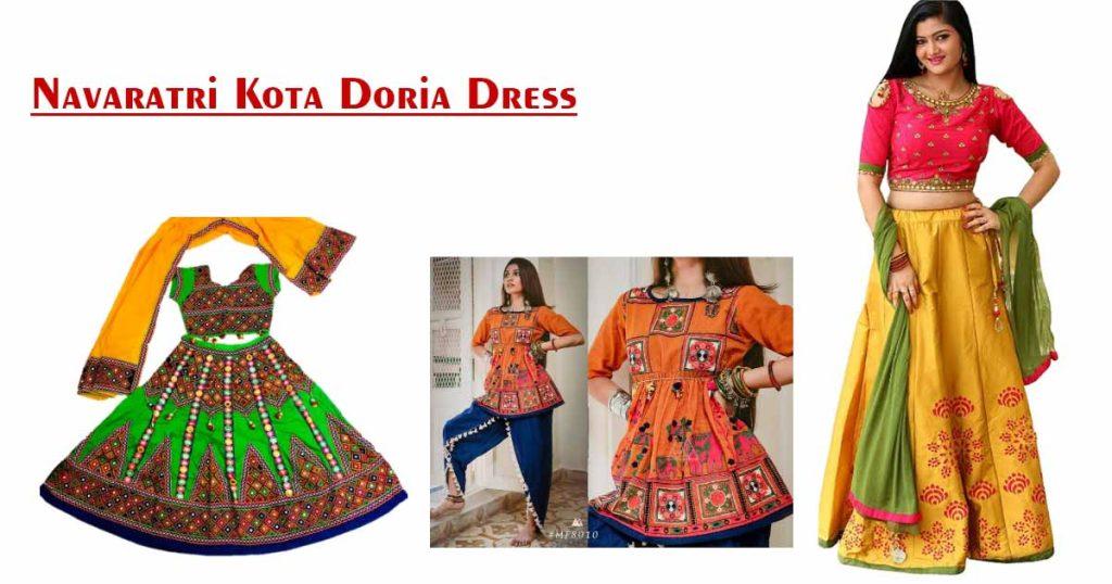 Kota Doria Dress
