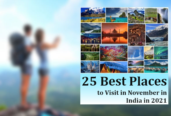 Travel places to visit in november